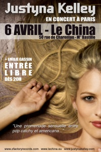 Justyna Kelley @ Le China